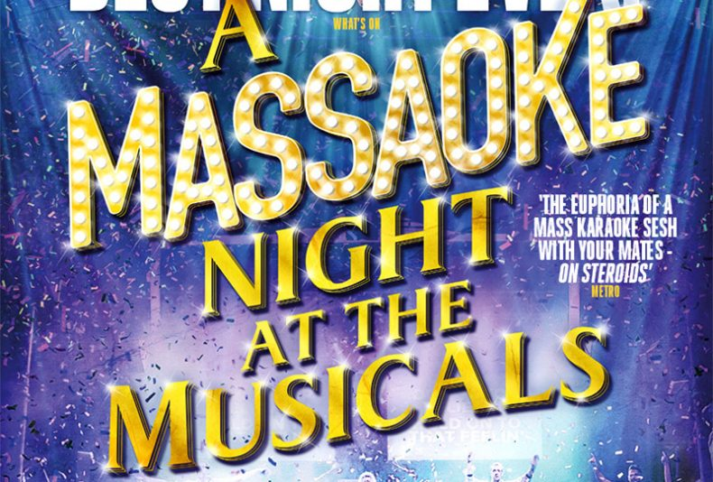 photo: USAVE Utility Contracts Raceday featuring Massaoke – A Night at the Musicals